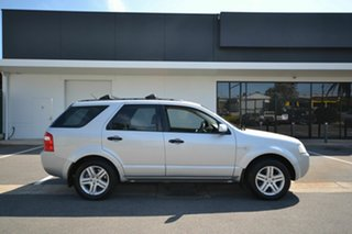 2005 Ford Territory SX Ghia (4x4) Silver 4 Speed Auto Seq Sportshift Wagon.