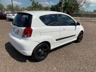 2008 Holden Barina White 4 Speed Auto Active Select Hatchback