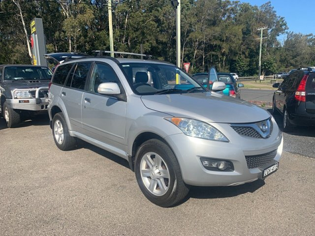 Used Great Wall X240 CC6461KY MY11 (4x4), 2012 Great Wall X240 CC6461KY MY11 (4x4) Silver 5 Speed Manual Wagon