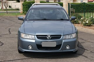 2006 Holden Crewman VZ MY06 S Blue 4 Speed Automatic Crew Cab Utility.