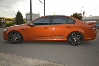 2010 Ford Falcon FG Upgrade XR6 50th Anniversary Orange 6 Speed Auto Seq Sportshift Sedan