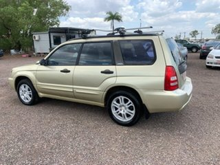 2003 Subaru Forester MY04 XT Gold 5 Speed Manual Wagon.