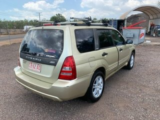 2003 Subaru Forester MY04 XT Gold 5 Speed Manual Wagon