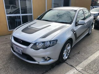2008 Ford Falcon FG XR6 Silver 5 Speed Auto Seq Sportshift Sedan.