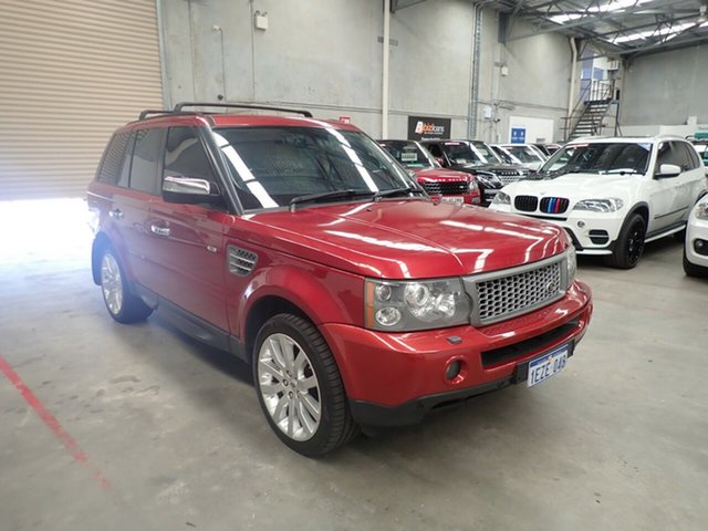 Used Land Rover Range Rover Sport L320 08MY Super Charged, 2007 Land Rover Range Rover Sport L320 08MY Super Charged Wildfire 6 Speed Sports Automatic Wagon