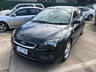 2006 Ford Focus LS Zetec Black 5 Speed Manual Hatchback.
