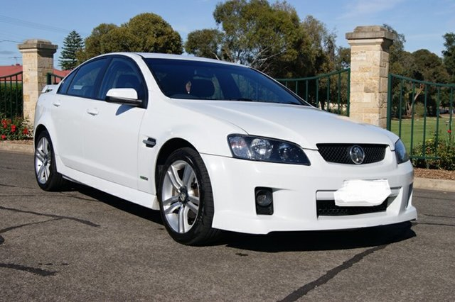 Used Holden Commodore VE MY10 SV6, 2009 Holden Commodore VE MY10 SV6 White 6 Speed Automatic Sedan