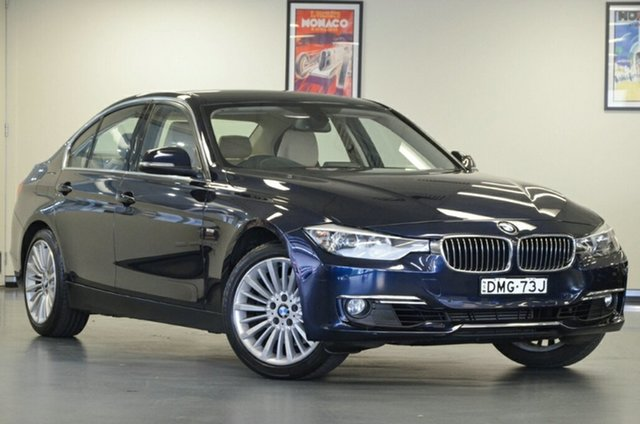 Used BMW 3 Series F30 328i, 2012 BMW 3 Series F30 328i Blue 8 Speed Sports Automatic Sedan
