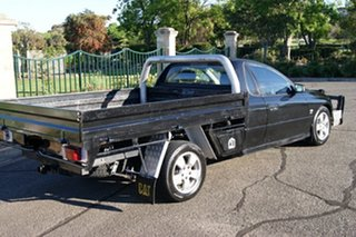 2004 Holden Commodore VZ One Tonner S Black 6 Speed Manual Cab Chassis