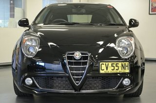 2014 Alfa Romeo Mito Series 2 Distinctive TCT Black 6 Speed Sports Automatic Dual Clutch Hatchback