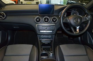 2016 Mercedes-Benz A-Class W176 807MY A180 D-CT White 7 Speed Sports Automatic Dual Clutch Hatchback