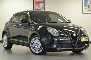 2014 Alfa Romeo Mito Series 2 Distinctive TCT Black 6 Speed Sports Automatic Dual Clutch Hatchback.
