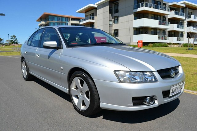 Used Holden Commodore VZ MY06 SVZ, 2006 Holden Commodore VZ MY06 SVZ Silver 4 Speed Automatic Sedan