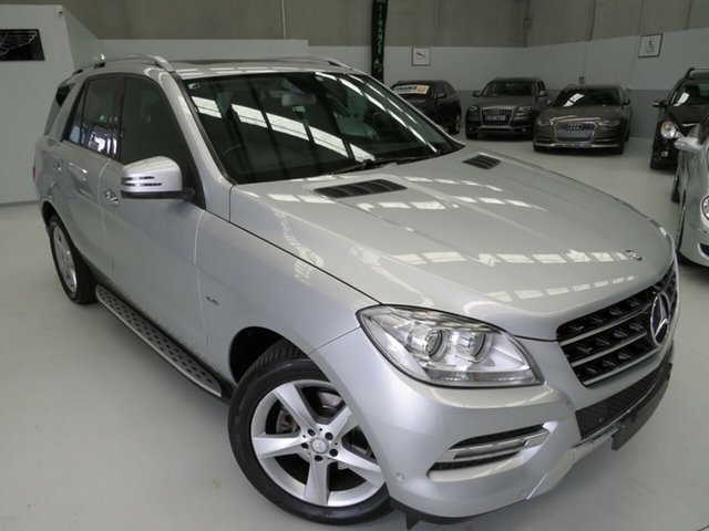 Used Mercedes-Benz M-Class W166 ML250 BlueTEC 7G-Tronic +, 2012 Mercedes-Benz M-Class W166 ML250 BlueTEC 7G-Tronic + Titanium Silver 7 Speed Sports Automatic