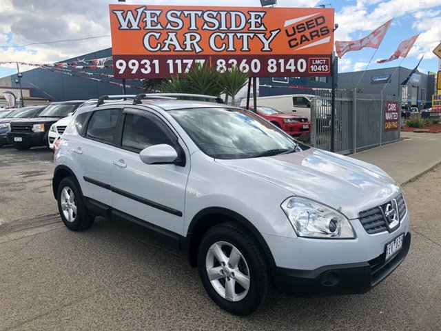 Used Nissan Dualis J10 MY10 ST (4x4), 2009 Nissan Dualis J10 MY10 ST (4x4) Silver 6 Speed CVT Auto Sequential Wagon