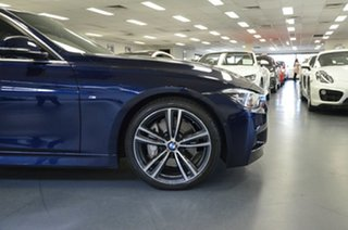 2015 BMW 3 Series F30 LCI 340i M Sport Tanzanite Blue 8 Speed Sports Automatic Sedan
