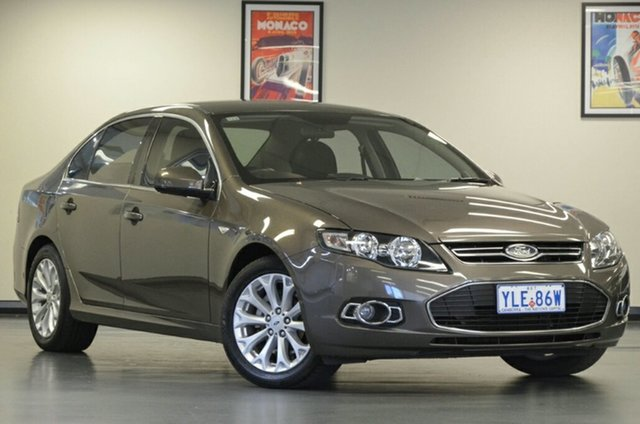 Used Ford Falcon FG MkII G6 EcoLPi, 2012 Ford Falcon FG MkII G6 EcoLPi Bronze 6 Speed Sports Automatic Sedan
