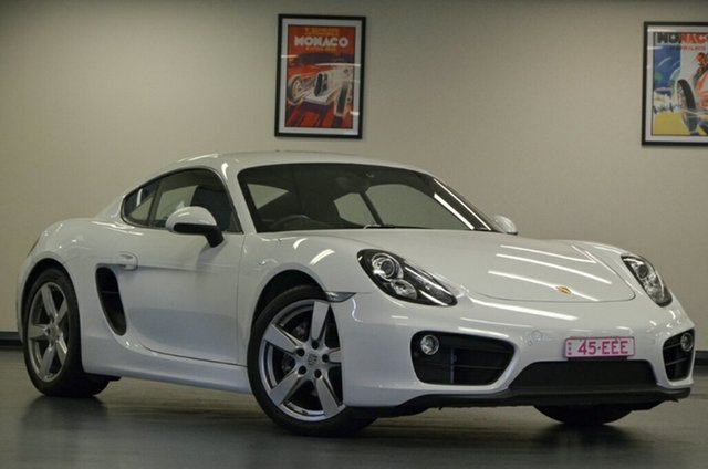 Used Porsche Cayman 981 MY15 PDK, 2015 Porsche Cayman 981 MY15 PDK White 7 Speed Sports Automatic Dual Clutch Coupe