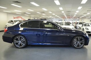 2015 BMW 3 Series F30 LCI 340i M Sport Tanzanite Blue 8 Speed Sports Automatic Sedan.