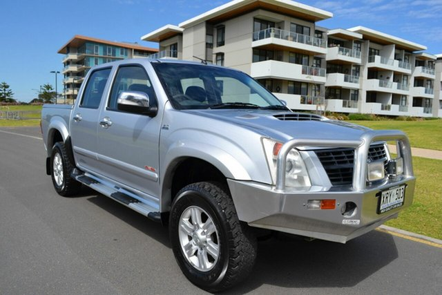 Used Holden Rodeo RA MY08 LT Crew Cab, 2008 Holden Rodeo RA MY08 LT Crew Cab Silver 5 Speed Manual Utility