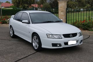 2006 Holden Commodore VZ MY06 SVZ White 4 Speed Automatic Sedan.