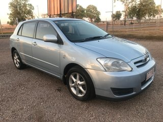 2004 Toyota Corolla ZZE122R 5Y Ascent Sport Blue 4 Speed Automatic Hatchback.