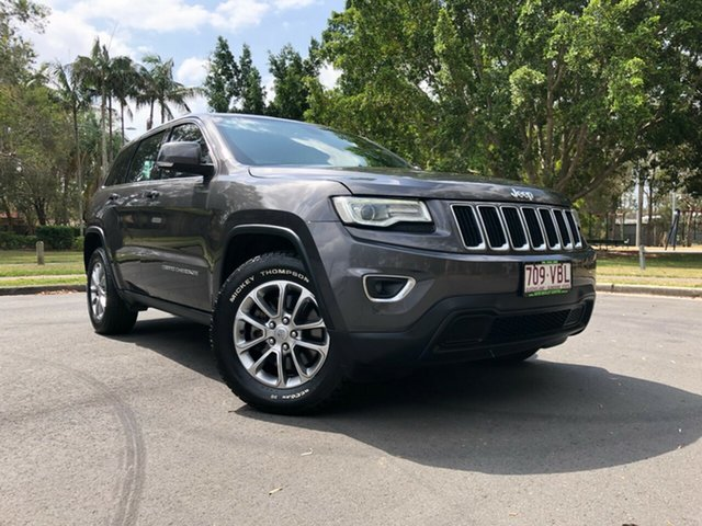 Used Jeep Grand Cherokee WK MY14 Laredo (4x4), 2014 Jeep Grand Cherokee WK MY14 Laredo (4x4) Grey 8 Speed Automatic Wagon