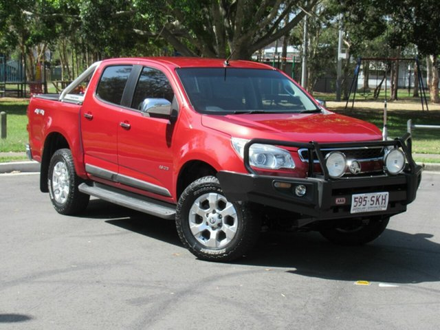 Used Holden Colorado RG MY13 LTZ Crew Cab, 2012 Holden Colorado RG MY13 LTZ Crew Cab Red 5 Speed Manual Utility