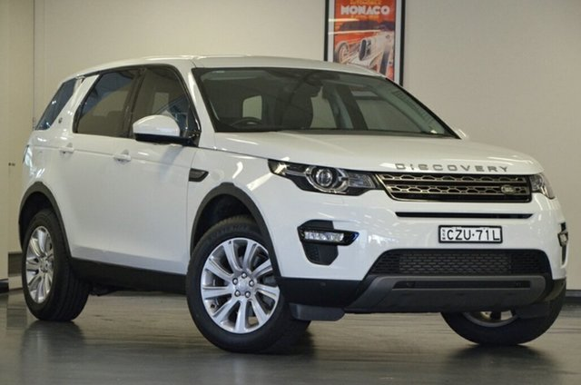 Used Land Rover Discovery Sport L550 16MY SD4 SE, 2015 Land Rover Discovery Sport L550 16MY SD4 SE White 9 Speed Sports Automatic Wagon
