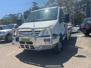 2009 Iveco Daily 45C15  3.0 LTR 150HP TURBO DIESE White Single Cab 3.0l