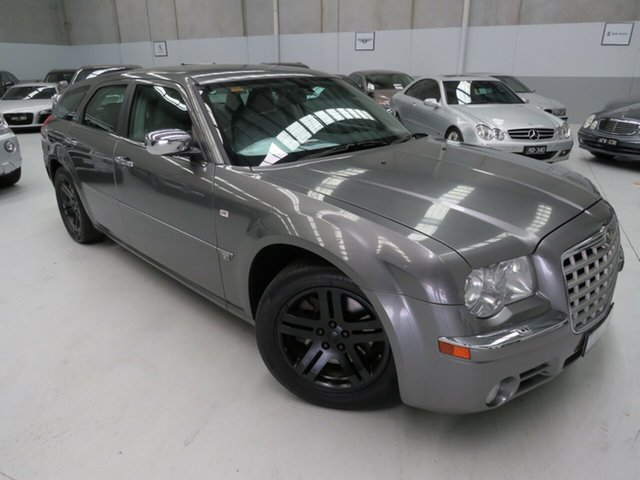 Used Chrysler 300C MY2009 Touring, 2009 Chrysler 300C MY2009 Touring Steel Blue Grey 5 Speed Sports Automatic Wagon