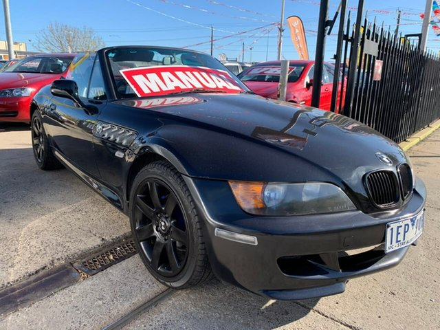 Used BMW Z3 E36-7 , 1997 BMW Z3 E36-7 Black 5 Speed Manual Roadster