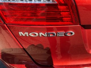 2007 Ford Mondeo MA TDCi Red 6 Speed Automatic Hatchback