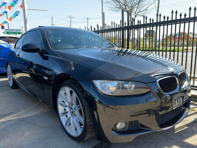 Used BMW 3 Series E92 MY08 335i Steptronic, 2008 BMW 3 Series E92 MY08 335i Steptronic Black 6 Speed Sports Automatic Coupe