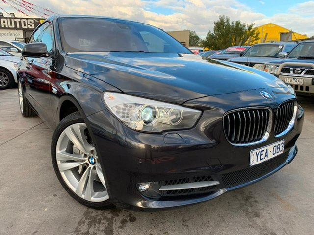 Used BMW 5 Series F07 MY10 550i Gran Turismo Steptronic, 2010 BMW 5 Series F07 MY10 550i Gran Turismo Steptronic Black 8 Speed Sports Automatic Hatchback
