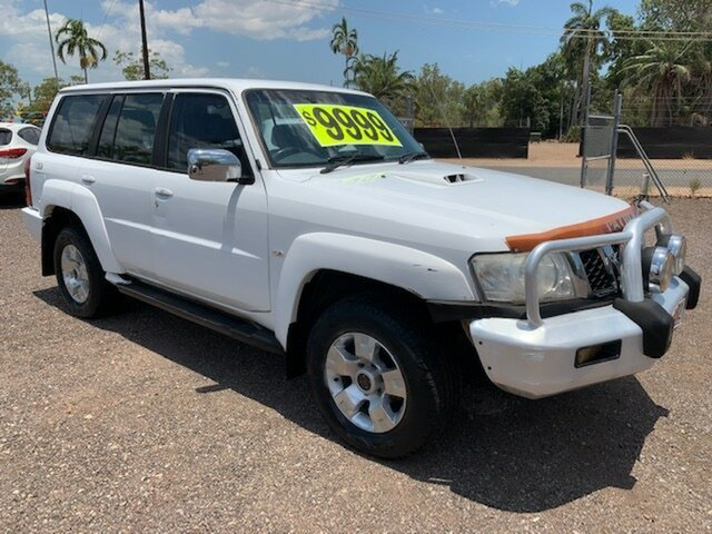 Used Nissan Patrol GU ST, 2004 Nissan Patrol GU ST White 4 Speed Auto Active Select Wagon