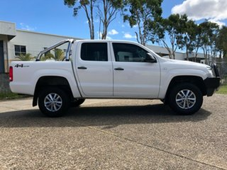 2015 Volkswagen Amarok 2H MY15 TDI400 (4x4) White 6 Speed Manual Utility.