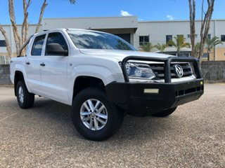 2015 Volkswagen Amarok 2H MY15 TDI400 (4x4) White 6 Speed Manual Utility