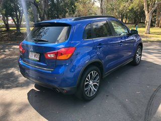 2015 Mitsubishi ASX XB MY15 LS (2WD) Blue Continuous Variable Wagon.