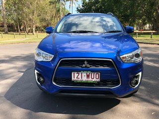 2015 Mitsubishi ASX XB MY15 LS (2WD) Blue Continuous Variable Wagon