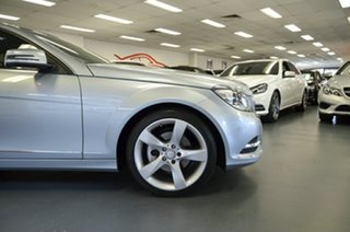 2012 Mercedes-Benz C-Class C204 MY13 C250 BlueEFFICIENCY 7G-Tronic + Diamond Silver 7 Speed