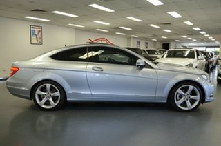 2012 Mercedes-Benz C-Class C204 MY13 C250 BlueEFFICIENCY 7G-Tronic + Diamond Silver 7 Speed.