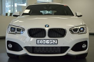 2016 BMW 1 Series F20 LCI 125i M Sport White 8 Speed Sports Automatic Hatchback