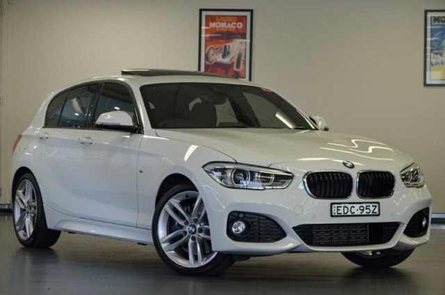 Used BMW 1 Series F20 LCI 125i M Sport, 2016 BMW 1 Series F20 LCI 125i M Sport White 8 Speed Sports Automatic Hatchback