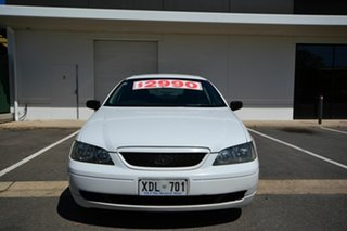 2004 Ford Falcon BA MkII XT White 4 Speed Auto Seq Sportshift Sedan.