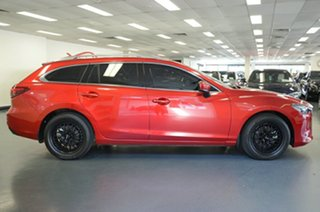 2017 Mazda 6 GL1021 Touring SKYACTIV-Drive Red 6 Speed Sports Automatic Wagon.