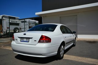 2004 Ford Falcon BA MkII XT White 4 Speed Auto Seq Sportshift Sedan