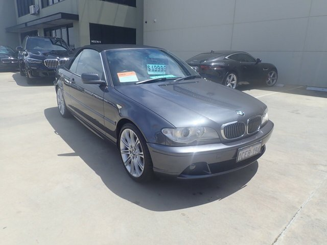 Used BMW 330Ci E46 MY04 Highline, 2006 BMW 330Ci E46 MY04 Highline Grey Metallic 5 Speed Auto Steptronic Convertible