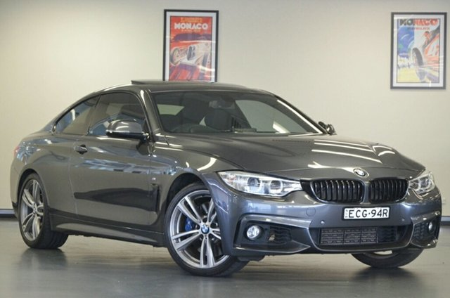 Used BMW 4 Series F32 435i, 2014 BMW 4 Series F32 435i Grey 8 Speed Sports Automatic Coupe
