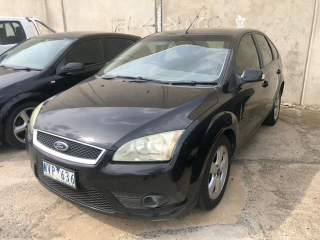 Used Ford Focus LT 08 Upgrade TDCi Hoppers Crossing, 2008 Ford Focus LT 08 Upgrade TDCi Black 6 Speed Manual Hatchback